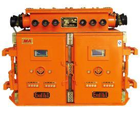 在交流50hz,电压为1140v及以下的供电系统中,对双电源双风机